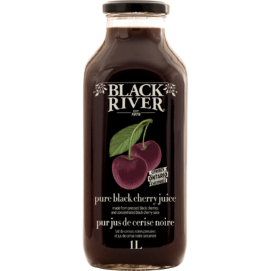Black River 100% Juice Pure Black Cherry