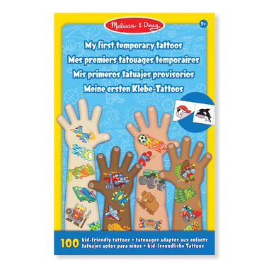 Melissa & Doug My First Temporary Tattoo Blue