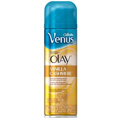 Gillette Venus with a Touch of Olay Shave Gel in Vanilla Cashmere