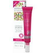 ANDALOU naturals 1000 Roses Eye Revive Contour Gel Sensitive