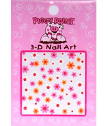 Piggy Paint 3D Nail Art Stickers
