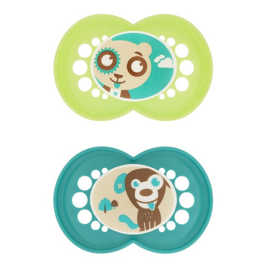 Mam Silicone Cartoon Pacifier