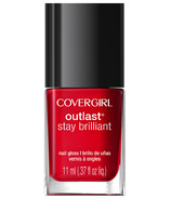 CoverGirl Outlast Stay Brilliant Nail Gloss Red-dy and Willing