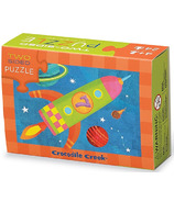 Crocodile Creek Two Sided Puzzle Space
