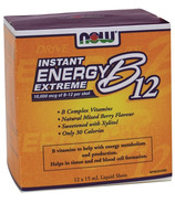NOW Foods Instand Energy Extreme B12 Liquid Shots