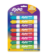 Expo Vibrant Colour Mix Dry Erase Markers