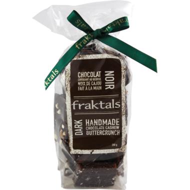 Fraktals Handmade Dark Chocolate Cashew Buttercrunch Bag