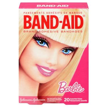 Band-Aid Barbie Bandages