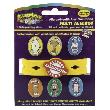Allermates Multi Charm Wristband Pack