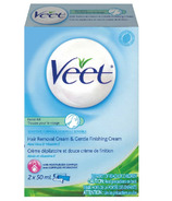 Veet Facial Hair Removal Cream Kit Sensitive Formula