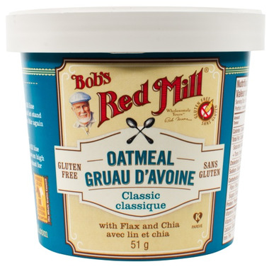 Bob\'s Red Mill Classic Oatmeal Cup