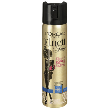 L\'Oreal Elnett Satin Elnett Loves Fashion Strong Hold Hairspray