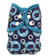 Bummis Swimmi One-Size Swim Diaper Whales