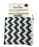 Bloom & Bliss Snack Bag & More Reusable Bag Zig Zag