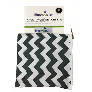Bloom & Bliss Snack Bag & More Reusable Bag Zig Zag