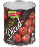 Muir Glen Diced Fire Roasted Tomatoes
