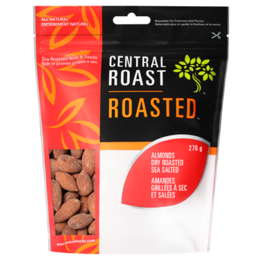 Central Roast Roasted Sea Salted Almonds