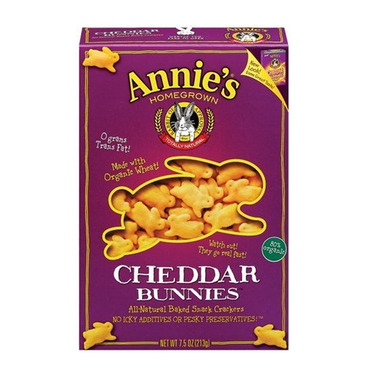 Buy Annie S Homegrown Organic Cheddar Bunnies At Well Ca