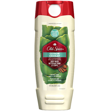 Old Spice Fresher Collection Citron Body Wash