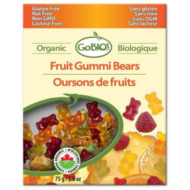 GoBio Organic Fruit Gummi Bears