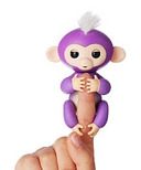 Fingerlings Baby Monkey Purple