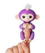 Fingerlings Baby Monkey Purple