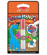 Melissa & Doug Color Blast! Dinosaurs Book On-The-Go