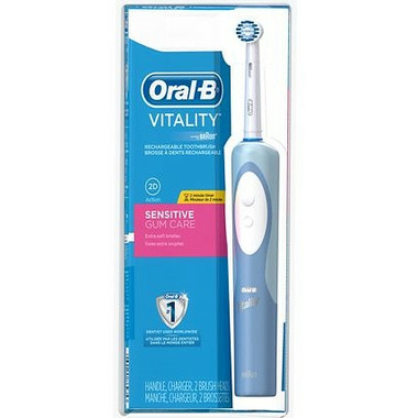 Oral-B Vitality Sensitive Gum Care Rechargeable Toothbrush