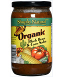 Simply Natural Organic Black Bean & Corn Salsa