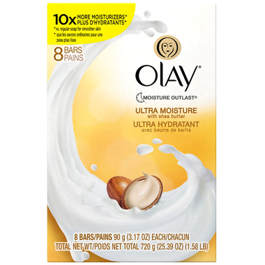 Olay Ultra Moisture Beauty Bar With Shea Butter
