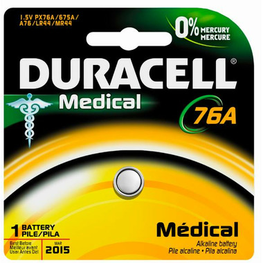 Duracell Alkaline 76A Medical Battery