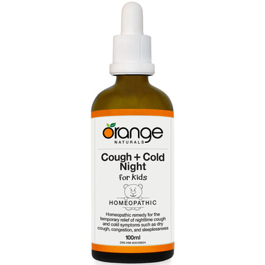 Orange Naturals Cough + Cold Night for Kids