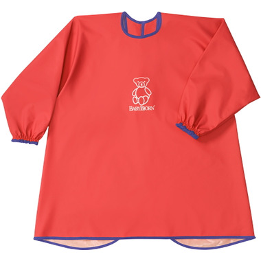 BabyBjorn Eat & Play Smock Red