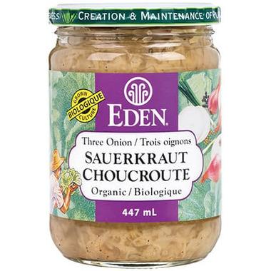 Eden Organic Three Onion Sauerkraut