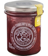 Wildly Delcious Muskoka Cranberry and Pear Chutney