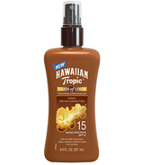Hawaiian Tropic Touch of Color Tinted Spray Lotion Sunscreen