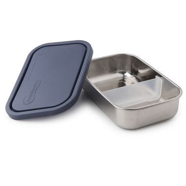 U-Konserve Divided Rectangle To-Go Stainless Steel Container in Ocean