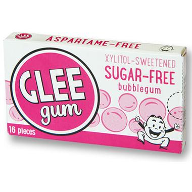 Glee Gum Sugar-Free Bubblegum Gum