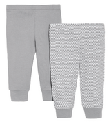 Skip Hop Petite Triangles Baby Pant Set Grey