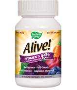 Nature's Way Alive! Women's 50+ MultiVitamin & Full B Complex