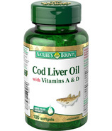 Nature's Bounty Omega-3 Cod Liver Oil