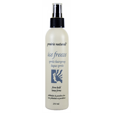 Prairie Naturals Ice Freeze Firm Hold Styling Spray