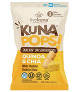 KunaPops Super Grain Snack White Cheddar