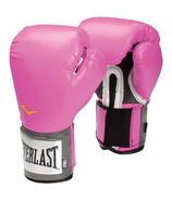 Everlast Pro Style Training Gloves 12 oz Pink