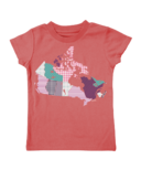 Farm Girl Patterned Canada Tee