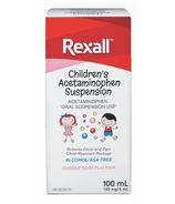 Rexall Children's Acetaminophen Suspension
