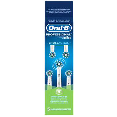 Oral-B Cross Action Brush Head Refills
