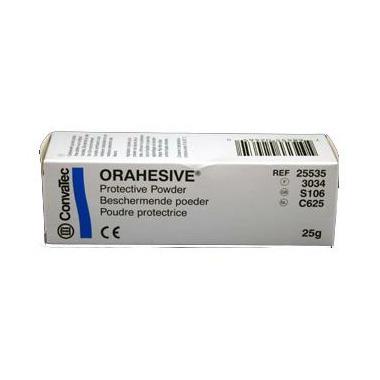 Orahesive Dental Powder