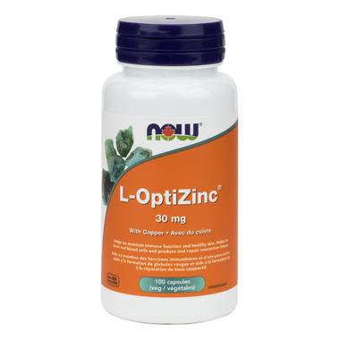 NOW Foods L-OptiZinc