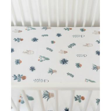 Little Unicorn Cotton Muslin Crib Sheet Prickle Pots